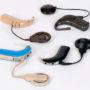 Different Cochlear implant devices used for hearing preservation.