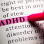 A dictionary highlights the word ADHD, and recent research shows a definite link between ADHD and sleep disorders.
