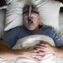 Type 2 diabetes and sleep apnea are closely related - this man wearing a CPAP mask should probably get tested for type 2 diabetes.
